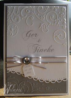 Spellbinders & embossed card