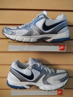Nike Air Skyraider 2 Men's Blue/Grey/white Running Shoes Size-10