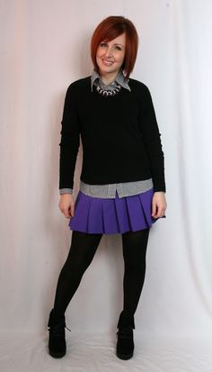 "Thrift and Shout: Cute Outfit of the Day: ""Love"" Fashion"