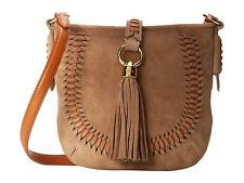 NWT ($198) RALPH LAUREN  Indian Cove Leather Suede Crossbody Shoulder Bag - NEW