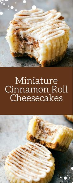 Miniature Cinnamon Roll Cheesecakes - Raihan Chef cookies and cream cookies christmas cookies easy cookies keto cookies recipes easy Cinnamon Roll Cheesecake, Homemade Cheesecake, Cheesecake Recipes, Cheesecake Cookies, Easy Cookie Recipes, Dessert Recipes, Dessert Ideas, Bachelorette Party Desserts, Delicious Desserts