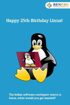 #Happy #25th #Birthday #Linux..:)