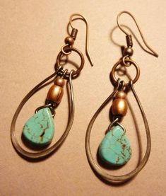 Wire Earrings by Cheryl Rose oA8qA