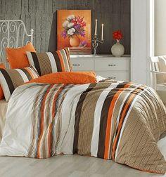 Bavlnené obliečky - TOUCH ORANGE Comforters, Touch, Throw Pillows, Blanket, Orange, Bed, Furniture, Home Decor, Creature Comforts