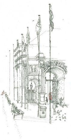 Keira Rathbone - typewriter drawing