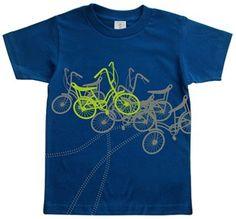 The Tomat Bicycles Organic Toddler Tee is great for your energetic toddler. Made from 100% certified organic cotton, this tee keeps your toddler cool while keeping the environment safe. The Tomat Toddler Tee will keep up with your growing child and comes in sizes to fit from 2 to 6 years.