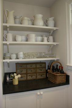 CD - Kitchen storage / Jane Wood Interiors