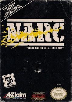 NARC (Nintendo NES, 1990)   ---   Originally an arcade game with a little more than 2 buttons, the Crouch & Rocket Bomb actions were activated when the player double-taped either the A or B buttons. Not to many games tried this for obvious reasons, but this is one of the features of this NES port of the game that make it unique.