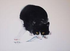Yutaka Murakami - образ кошки в искусстве