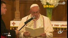 Papa Francesco in Georgia - La preghiera nell'incontro con la Comunità A...