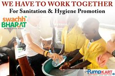 #Sanitation and personal #hygiene is not only protects you from poor #health, but also protects those around you from suffering #illnesses. Work together for sanitation and hygiene promotion and keep supporting our #Swachh #Bharat #Abhiyan…