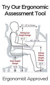 Super Interactive Tool Based On Your Height To Get The Best Ergonomic Work Setup Office Desk Chair