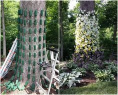 before and after garden party 1 Deco Floral, Art Floral, Floral Design, Floral Wedding, Wedding Flowers, Large Flower Arrangements, Flower Installation, Flower Wall, Diy Flowers