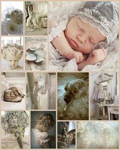 ❥ sweet babies, soft creams