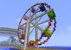 minecraft ferris wheel   My brain may explode...   The Minecraft Scribe