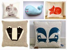 The Inspiationarium | Design Inspiration: Crazy About Cute Cushions