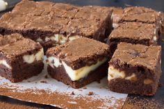 Cheesecake Brownies - Sweeter Life Club