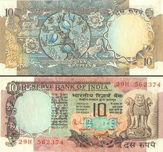 Indian Ten Ruppy