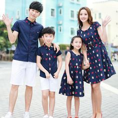 Family Matching Outfit Sets