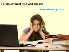 When you exactly stick into any assignment or project that you don't understand properly at the same time the assignment help in USA option is one of the leading ways to make your all studies easier and simpler.  www.stucomp.com/blog/assignment-help-in-usa-to-resolute-all-queries-of-any-subject/