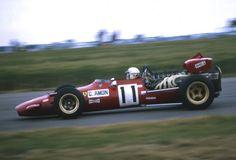1969 GP Wielkiej Brytanii (Silverstone) Ferrari 312/69 (Chris Amon)