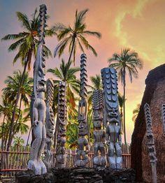 Pu'uhonua o Honaunau National Park | Big Island, Hawaii