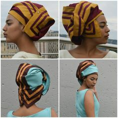 Head covering The Azanian way African Fashion Dresses, African Dress, Xhosa, Head Wraps, Traditional Outfits, Wrap Style, Pride, Gowns, Turbans
