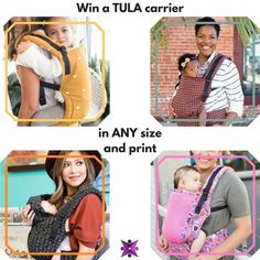 Win a Tula carrier in ANY size + print! ENTER NOW