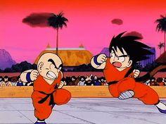 Dragon Ball - Goku vs Krilin