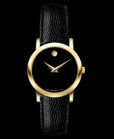 Movado watch simple, beautiful, timeless!