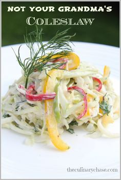 easy to make coleslaw