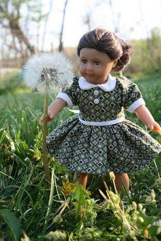 Mini Ruthie, dress by Dawn Smith