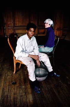Basquiat and Warhol