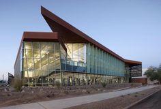 20 Most Impressive College Gyms and Student Rec Centers. of Arizona's Campus Rec Center University Architecture, School Architecture, Architecture Plan, Landscape Architecture, Architecture Colleges, Colorado State University, University Of Arizona, Arizona Wildcats, Building Exterior