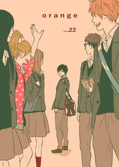 The most melo wonderful manga that is still ongoing that had shred me into tears T^T it's that great! || Manga: Orange
