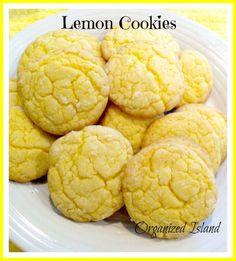 Lovely Lemon Cookies! Yummy yum.