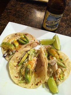 Baja Fish Tacos!