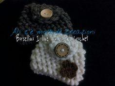 Borsellino realizzato nel gruppo social crochet su fb