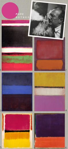 Have always loved Rothko since our senior year visit to The Art Institute of Chicago.