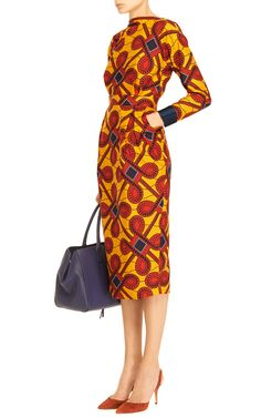 Printed Cotton Dress by Stella Jean - Moda Operandi