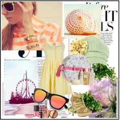 """""""Summer Girl"""" by goldgoldiel on Polyvore"""