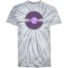#PurpleMoonDreamsRetroRecord #SilverGildanTieDye #CyclonePinwheel #YouthTshirt by #MoonDreamsMusic