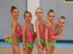 Rhythmic Gymnastics, Leotards, Bikinis, Swimwear, Dancer, Inspiration, Acro, Group, Sport