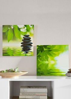 tableau triptyque compo zen bambous n nuphar galets d co zen pinterest tableau triptyque. Black Bedroom Furniture Sets. Home Design Ideas