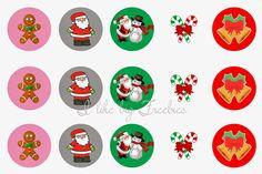 I like big freebies: Christmas bottlecap images (FREE! Bottle Cap Magnets, Bottle Cap Necklace, Bottle Cap Art, Bottle Top Crafts, Bottle Cap Projects, Free Bottlecap Images, Bow Image, Bow Accessories, Paper Crafts