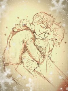 Jack and Elsa Jelsa, Disney Dream, Disney Love, Arte Disney, Disney Fan Art, Hery Potter, Frozen Love, Disney Ships, Jack Frost And Elsa