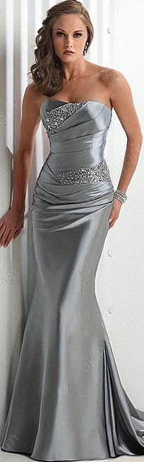 Love this as a bridesmaid dress!! Different color maybe