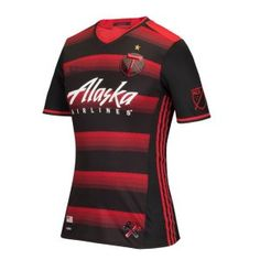 Women Portland Timbers FC Season Away Red Black PTFC Shirt Jersey 8cdf9dc1f