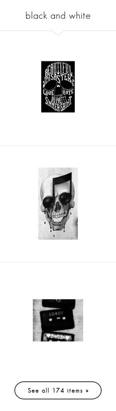 """""""black and white"""" by mimmiandkinkistatementjewelry ❤ liked on Polyvore featuring home, home decor, wall art, skull home decor, skull drawing, skull wall art, skull home accessories, stripes, art and backgrounds"""