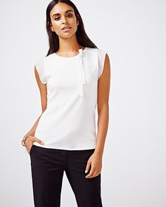 This lightweight t-shirt is a wardrobe staple. Wear with a pair dark slim pants…